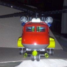 Juegos construcción - Lego: LEGO CITY FIRE 2016 RF 60108 HELICÓPTERO / MOTO BOMBEROS UNIDAD APAGA INCENDIO & CONTAINER EN LLAMA. Lote 169022184