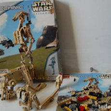 Juegos construcción - Lego: LEGO TECHNIC STAR WARS EPISODE I. BATTLE DROID 8001. Lote 169030636