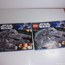 Juegos construcción - Lego: INSTRUCCIÓNES Y CAJA VACÍA LEGO STAR WARS 7965. Lote 169035782