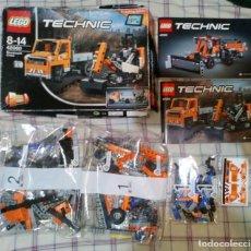 Juegos construcción - Lego: LEGO TECHNIC ROADWORK CREW 42060 - 2017. Lote 169581060