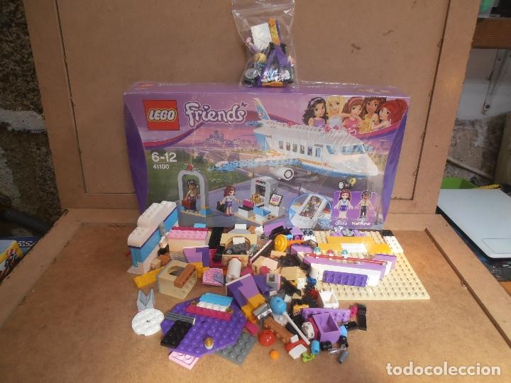 LEGO FRIENDS PRIVATE JET PLANE AIRPLANE 41100 OLIVIA MATTHEW (Juguetes - Construcción - Lego)