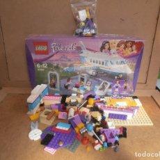 Juegos construcción - Lego: LEGO FRIENDS PRIVATE JET PLANE AIRPLANE 41100 OLIVIA MATTHEW. Lote 143318554