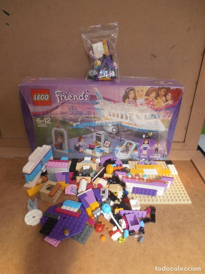 Juegos construcción - Lego: Lego Friends Private Jet Plane Airplane 41100 Olivia Matthew - Foto 2 - 143318554