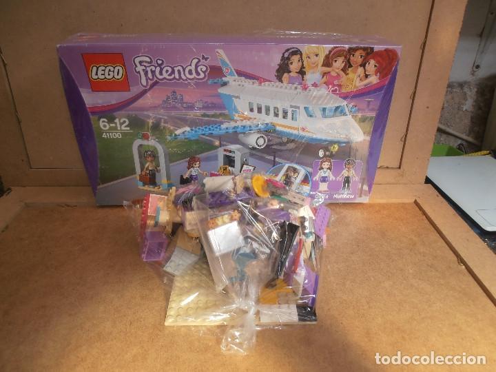 Juegos construcción - Lego: Lego Friends Private Jet Plane Airplane 41100 Olivia Matthew - Foto 3 - 143318554