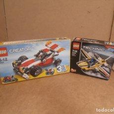 Juegos construcción - Lego: LEGO CREATOR 3 EN 1 SET 5763 + TECHNIC 2 EN 1 SET 42044 COMPLETO CAJA SIN ABRIR. Lote 162106086