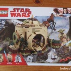 Juegos construcción - Lego: LEGO STAR WARS 75208 CABAÑA DE YODA ORIGINAL NUEVO Y PRECINTADO YODA´S HUT. Lote 170377648