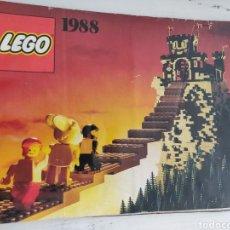 Juegos construcción - Lego: CATÁLOGO LEGO 1988. Lote 170575679