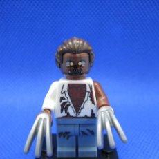 Juegos construcción - Lego: HOMBRE LOBO TIPO LEGO. Lote 170824590