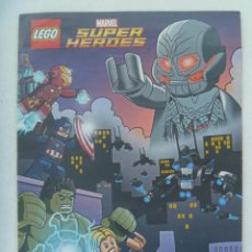 Juegos construcción - Lego: COMIC DE LEGO SUPER HEROES, MARVEL. Lote 170911120