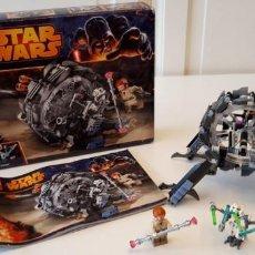Juegos construcción - Lego: LEGO® STAR WARS 75040 GENERAL GRIEVOUS' WHEEL BIKE. Lote 171165488