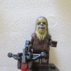 Juegos construcción - Lego: FIGURITA COMPATIBLE LEGO STAR WARS CHEWBACCA. Lote 171265004