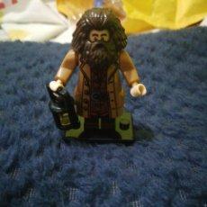 Juegos construcción - Lego: FIGURA COMPATIBLE CON LEGO-HAGRID HARRY POTTER. Lote 171500622