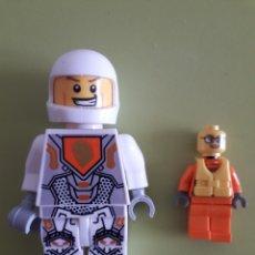 Jeux construction - Lego: MUÑECOS LEGO UNO DE TAMAÑO REGULAR, EL OTRO ALGO MÁS GRANDE. Lote 171680974
