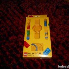 Juegos construcción - Lego: CAJA DE LEGO WATCH SYSTEM EN CAJA CON ESFERAS Y CORREAS INTERCAMBIABLES LO QUE SE VE. Lote 171780449