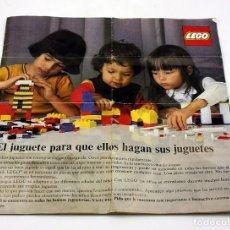 Juegos construcción - Lego: LEGO - ANTIGUO CATALOGO AÑO 1974 - ESPAÑOL. Lote 171782964