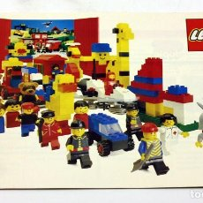 Juegos construcción - Lego: LEGO - ANTIGUO CATALOGO - AÑO 1981 - LEGOLAND, FABULAND, DUPLO, BASICAS, ESPACIO - 19 PÁGINAS. Lote 171783575