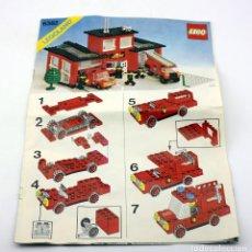 Juegos construcción - Lego: LEGO - INSTRUCCIONES MONTAJE LEGOLAND 6382 - AÑO 1981 - CUARTEL DE BOMBEROS - CLASICO VINTAGE. Lote 171783848