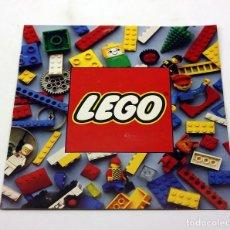 Juegos construcción - Lego: LEGO - ANTIGUO CATALOGO DEL AÑO 1980 - IMPECABLE - DUPLO, LEGOLAND, FABULAND, TECNICS. Lote 171784565