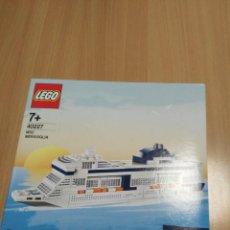 Juegos construcción - Lego: LEGO EDICION EXCLUSIVA PARA MSC CRUCEROS REF 40227 MSC MERAVIGLIA. Lote 171811468