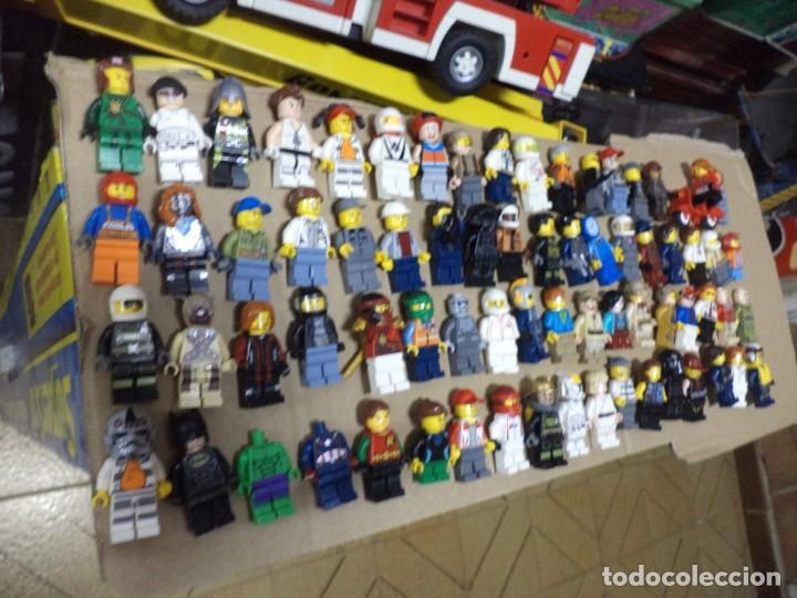 MEGA LOTE 71 PERSONAJES O FIGURAS LEGO ORIGINALES. (Juguetes - Construcción - Lego)