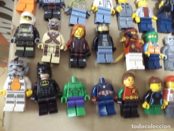 Juegos construcción - Lego: Mega lote 71 personajes o figuras lego originales. - Foto 7 - 171876629