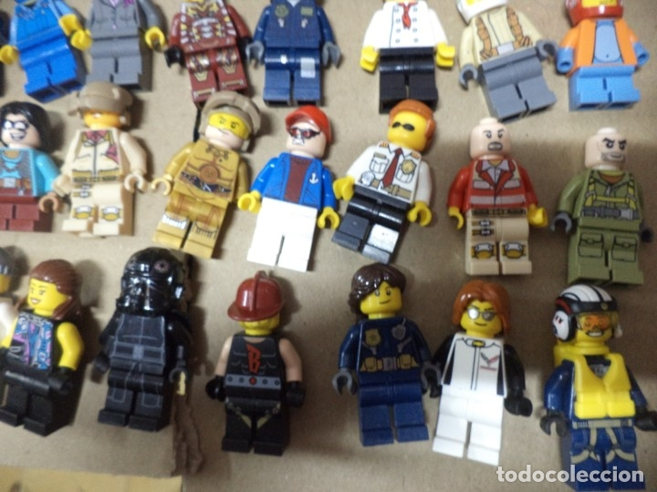 Juegos construcción - Lego: Mega lote 71 personajes o figuras lego originales. - Foto 9 - 171876629