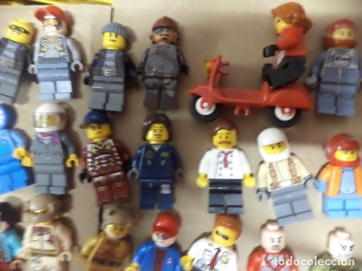 Juegos construcción - Lego: Mega lote 71 personajes o figuras lego originales. - Foto 10 - 171876629