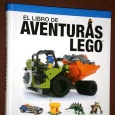 Juegos construcción - Lego: EL LIBRO DE AVENTURAS LEGO POR MEGAN H. ROTHROCK DE ED. OBERON EN MADRID 2014. Lote 172228528