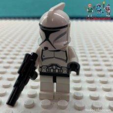 Juegos construcción - Lego: MINIFIGURA ORIGINAL LEGO STAR WARS - CLONE TROOPER . Lote 172305939