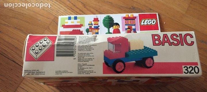 Juegos construcción - Lego: LEGO BASIC 320. Completo - Foto 7 - 172321117