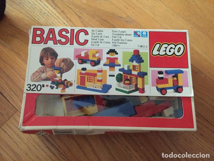 LEGO BASIC 320. COMPLETO (Juguetes - Construcción - Lego)