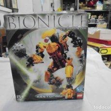 Juegos construcción - Lego: LEGO BIONICLE 8755.-KEETONGU.LEER DESCRIPCION. Lote 172703147