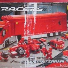 Juegos construcción - Lego: LEGO RACERS - SCUDERIA FERRARI TRUCK - REF 8 + 8654. Lote 172713355