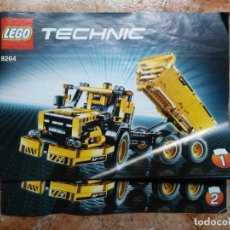 Juegos construcción - Lego: CATÁLOGO INSTRUCCIONES DE MONTAJE 1 Y 2 LEGO TECHNIC 8264. Lote 172729125