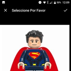 Juegos construcción - Lego: SUPERMAN NO LEGO COMPATIBLE. Lote 173050427