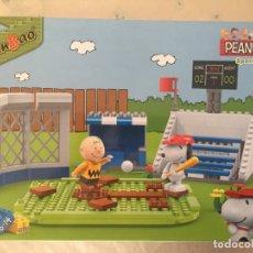 Giochi costruzione - Lego: BANBAO SET # 7529 - PEANUTS COLLECTION - CAMPO DE BEISBOL SNOOPY. Lote 173158577