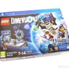 Juegos construcción - Lego: LEGO STARTER PACK PLAYSTATION 4 DIMENSIONS 71771 - MINIFIGURA SUPERGIRL EXCLUSIVA - PS4. Lote 210061540