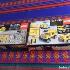 Juegos construcción - Lego: LEGO TECHNIC 8020 Y 8700 CON INSTRUCCIONES Y CATÁLOGO LEGO 1986. CAJAS MUY BUEN ESTADO.. Lote 173520355
