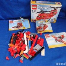 Juegos construcción - Lego: LEGO - LOTE DE PIEZAS LEGO REF: 31003 MAS DE 120 GRAMOS VER FOTOS ! SM. Lote 173672124