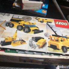 Juegos construcción - Lego: LEGO 744 AÑOS 80 VINTAGE IMUCHAS PIEZAS FOLLETOS PERO NO SE SI ESTA COMPLETO MÁS REGALO PIEZA PISTA. Lote 187217848