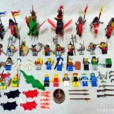 Juegos construcción - Lego: GRAN SURTIDO LEGO. PERSONAJES EQUIPADOS, CABALLOS, DRAGONES, ACCESORIOS, ETC.. Lote 173838165