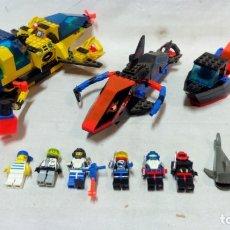 Juegos construcción - Lego: SURTIDO LEGO. NAVES, BARCAS, PERSONAJES, ETC.. Lote 173838752