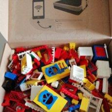 Juegos construcción - Lego: CAJA CON MAS DE 50 PIEZAS LEGO-TENTE.. Lote 173852223