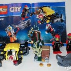 Juegos construcción - Lego: LEGO CITY 60091 PIEZAS Y FIGURAS COMPLETO A FALTA DE 1 PIEZA. Lote 174041498