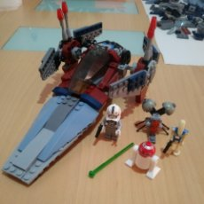 Juegos construcción - Lego: NAVE Y FIGURAS+PIEZAS STAR WARS COMPATIBLE LEGO.. Lote 174078869