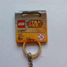 Juegos construcción - Lego: LLAVERO LEGO C3PO STAR WARS. Lote 218299183