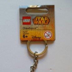 Juegos construcción - Lego: LLAVERO LEGO CHEWBACCA DARTH MAUD. Lote 174239308