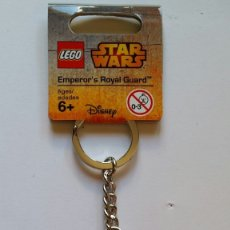 Juegos construcción - Lego: LLAVERO LEGO EMPERADOR DE LA GUARDIA REAL STAR WARS. Lote 174239438