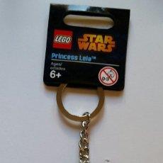 Juegos construcción - Lego: LLAVERO LEGO PRINCESA LEIA STAR WARS. Lote 174239488