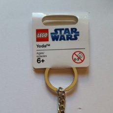 Juegos construcción - Lego: LLAVERO LEGO YODA STAR WARS. Lote 174239724